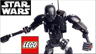 LEGO Star Wars 75120 Дроид K-2SO Обзор. Смотреть видео Лего Изгой-один: Звёздные войны. Истории