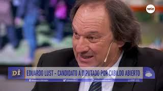 Eduardo Lust, abogado y candidato a diputado por Cabildo Abi...