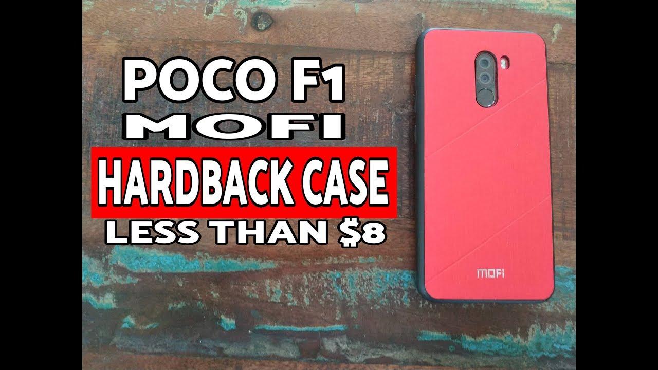 pretty nice 8c647 75c83 Xiaomi Poco F1 Mofi Case (Hardback) Review; Pocophone F1 Mofi Case