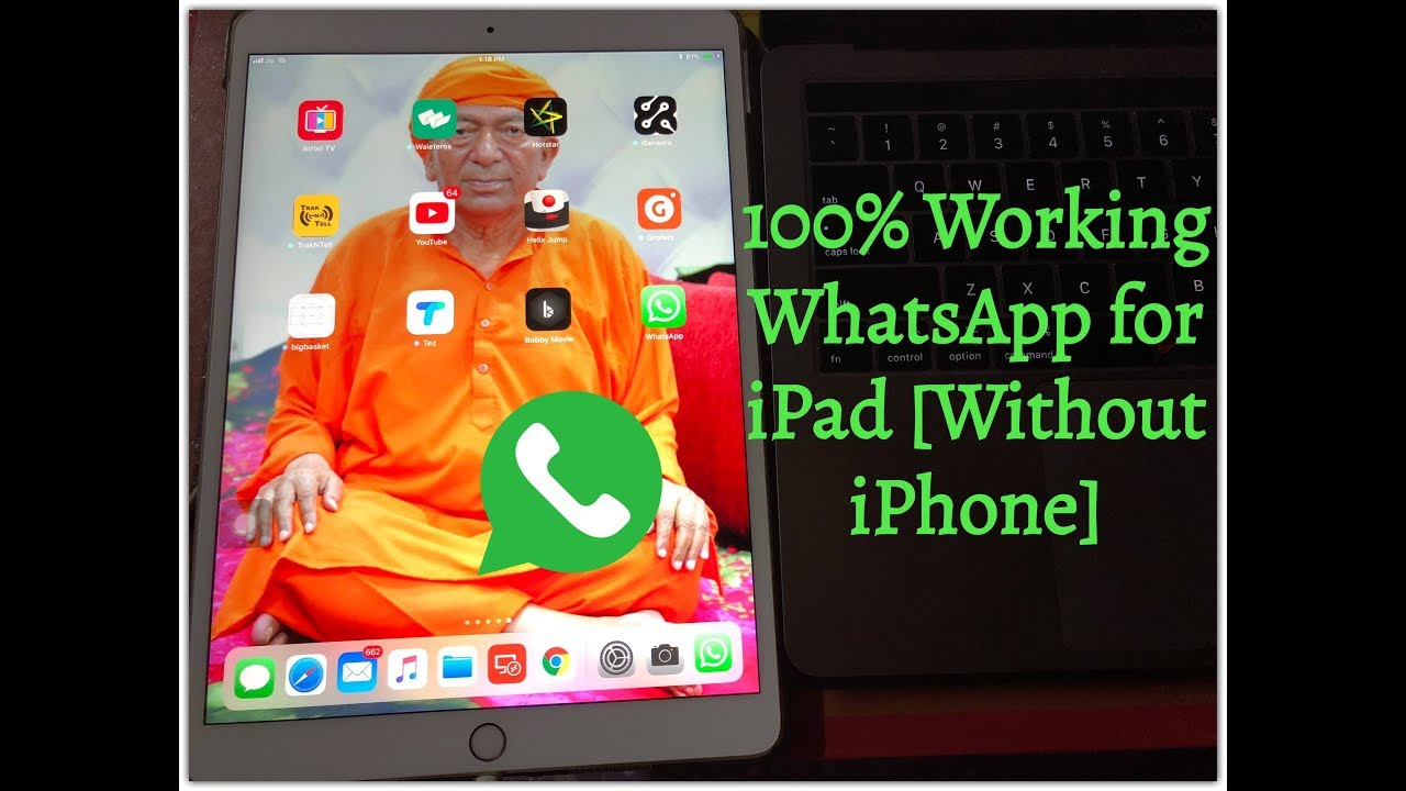 Install WhatsApp on iPad WITHOUT iPhone Official for iOS 11 and Higher  [100% Working]