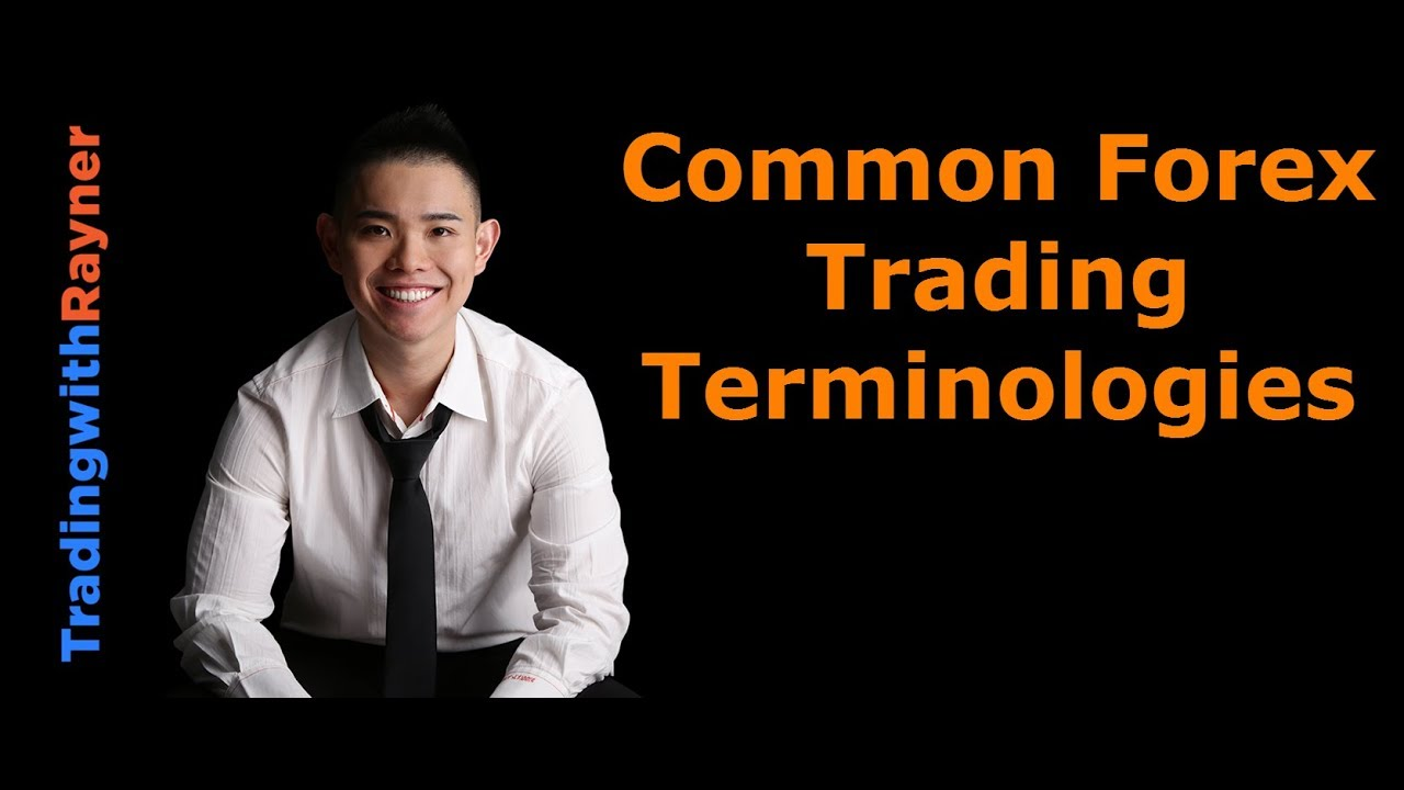 Forex Trading For Beginners 4 Common Terminologies By Rayner Teo