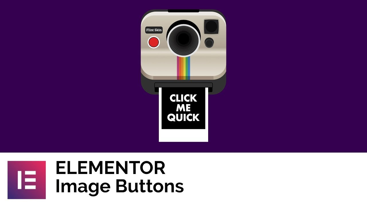 Elementor Image Buttons