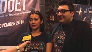 CINEMA LOUNGE interviewed RATU FELISHA & DANIEL TOPAN for BADOET