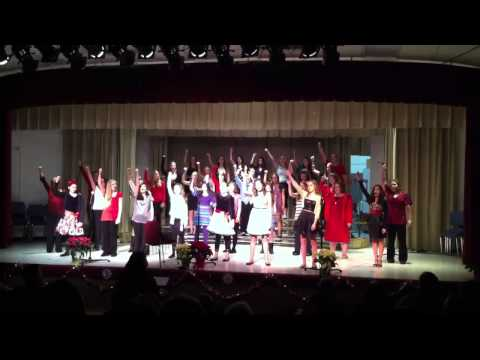 South Middle School's Christmas Recital
