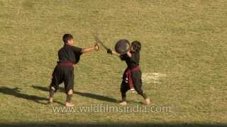 Martial arts from north-east India: Manipur