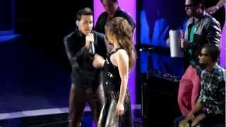 Thalia   Prince Royce Te Perdiste Mi Amor Premios Lo Nuestro 2013