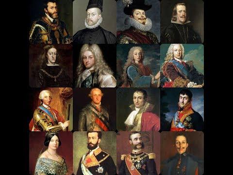 Cronología reyes de España.