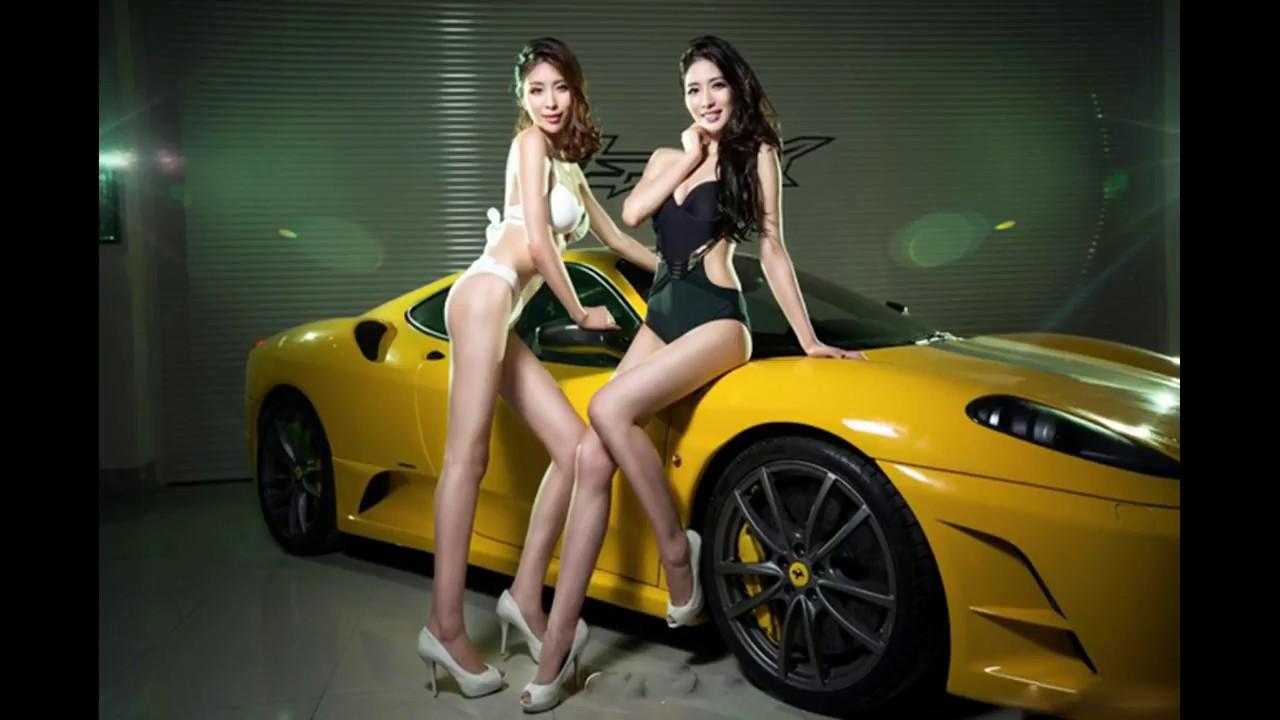 Super Cool Car Jealoushot Girl Play