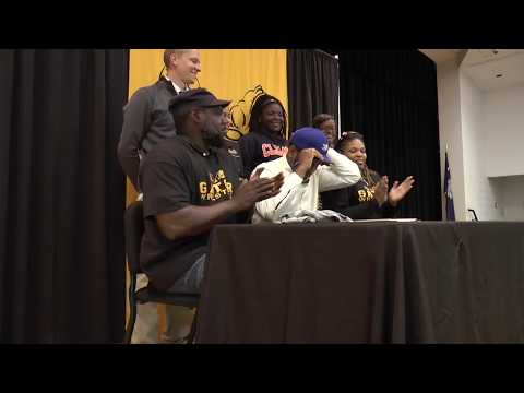 Goose Creek High School hosts historic spring athletic signing event