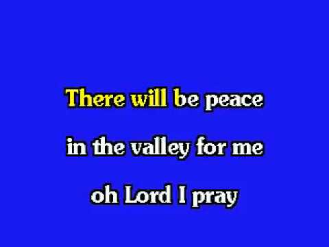 ELVIS KARAOKE PEACE IN THE VALLEY from YouTube · Duration:  3 minutes 36 seconds