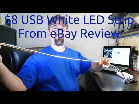 $8 USB LED Strip From eBay Review