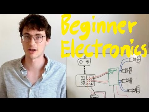 combat robot electronics for beginners