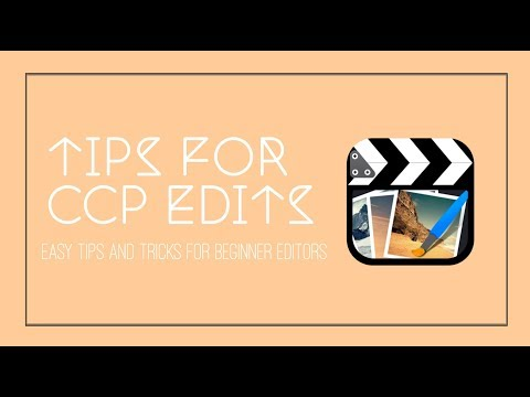 Tips for your edits to look better! [ccp] - YouTube