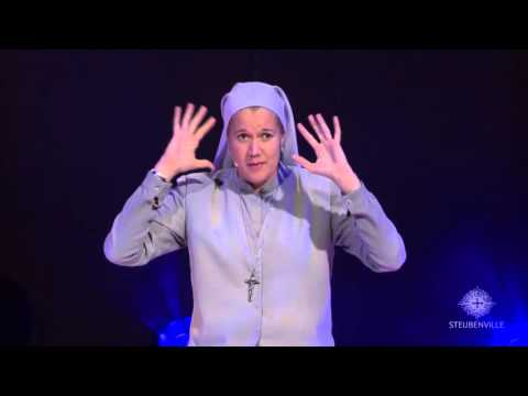 Sister Miriam Heidland - Saturday Evening Keynote - 2015  Steubenville Toronto