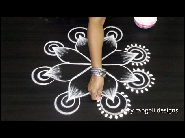 Friday kolam ideas for Varalakshmi vratham 2018 | Friday muggulu | easy rangoli designs