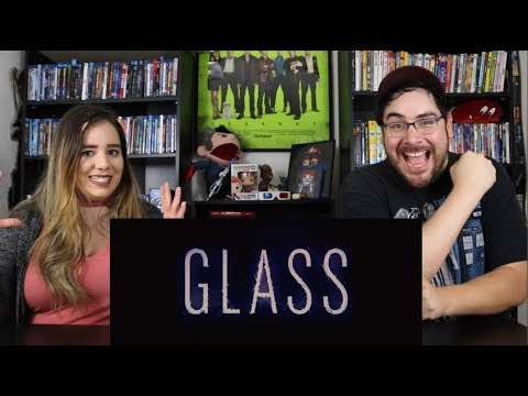 Glass - SDCC Official Trailer Reaction / Reveiw