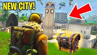EPIC NEW *FORTNITE MAP UPDATE* w/ MY GIRLFRIEND!! (Fortnite Battle Royale)