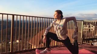 видео-урок упражнений для эффективной растяжки