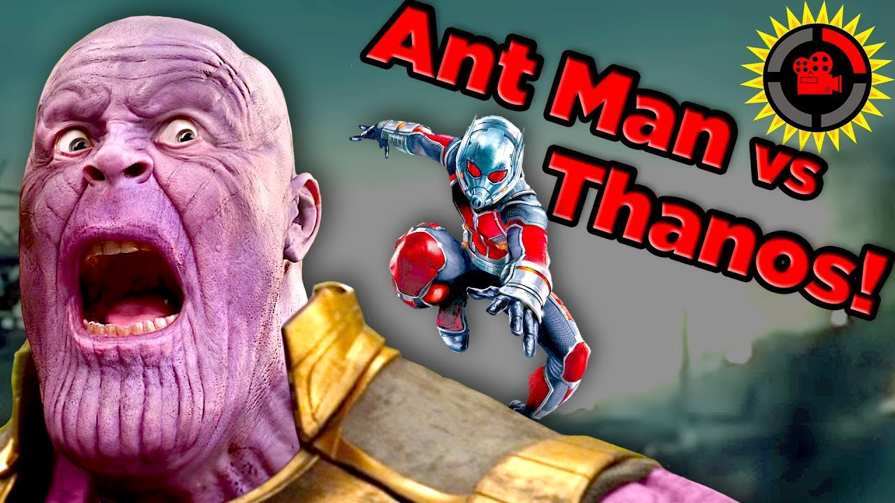 Film Theory: Thanos vs Ant Man - Cracking Endgame's Biggest Meme! image