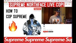 Supreme Northface Live Cop! Did We Get The Jacket!? + How To Cop Supreme (Supreme FW17 Week 15 )