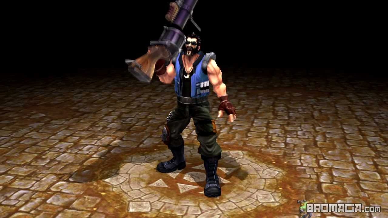 Hired Gun Graves 3D - League of Legends - YouTube