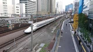 東海道新幹線 助走区間 N700系@田町駅 301208