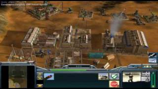 Generals Zero Hour 7vs1 (hard AI Teamed vs player) Part 1 of 10