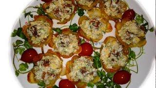 Картофельные Корзинки ✧ Салат в картошке