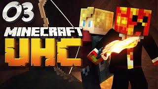 Minecraft YOUTUBER DOUBLE HEALTH UHC - #3 (Ultra Hard Core) w/ PrestonPlayz & Lachlan
