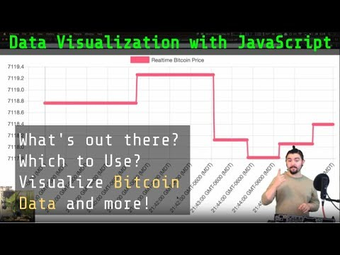 Data Visualization with JS 2018 - What's out there? Which to Use? - Visualize Bitcoin Data and more