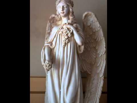 Beautiful White Fairy Angel Garden Divine Decor Statue Sculpture