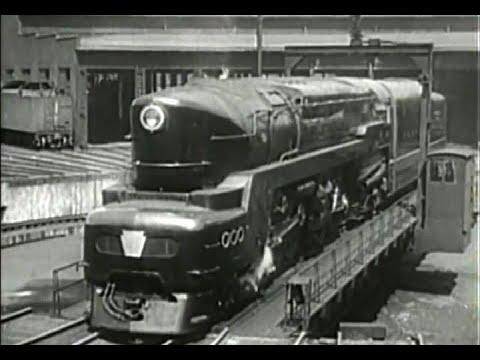 The Pennsylvania Railroad in 'Clear Track Ahead' (1946)