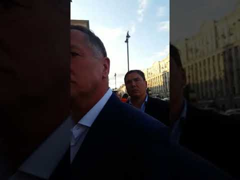 Встреча дольщиков Марьино Град с заместителем мэра Москвы Хуснулиным М.Ш.