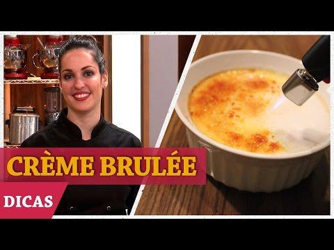 CRÈME BRULÉE Com Raquel | DICAS MASTERCHEF