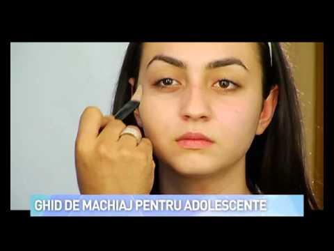 Ghid De Machiaj Pentru Adolescente Youtube