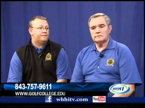 "WHHI TV's ""Talk of the Town""-Professional Golfers Career College-www.GolfCollege.edu-(843) 757-9611"
