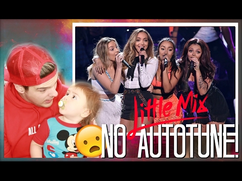 Little Mix Real Voice (Without Autotune) Reaction