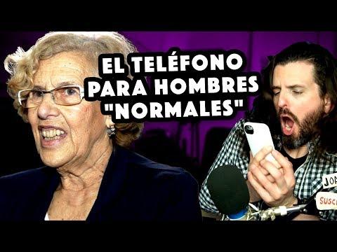 """Carmena propone un teléfono para hombres """"normales"""" + video desde Argentina 🤪"""