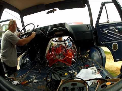 1988 Van Last and First Start Engine Swap