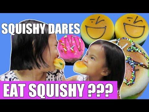 Lifia niala main squishy dares challenge Indonesia - Squishy Challenge
