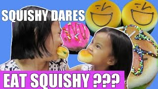 7 Squishy dares challenge Indonesia - Squishy Dares Lifia Niala