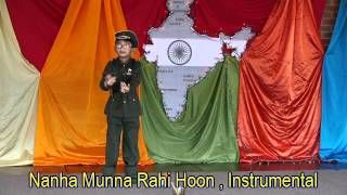 Nanha Munna Rahi hu Hindi song Bollywood patriotic Instrumental Cover By Vishal saxena