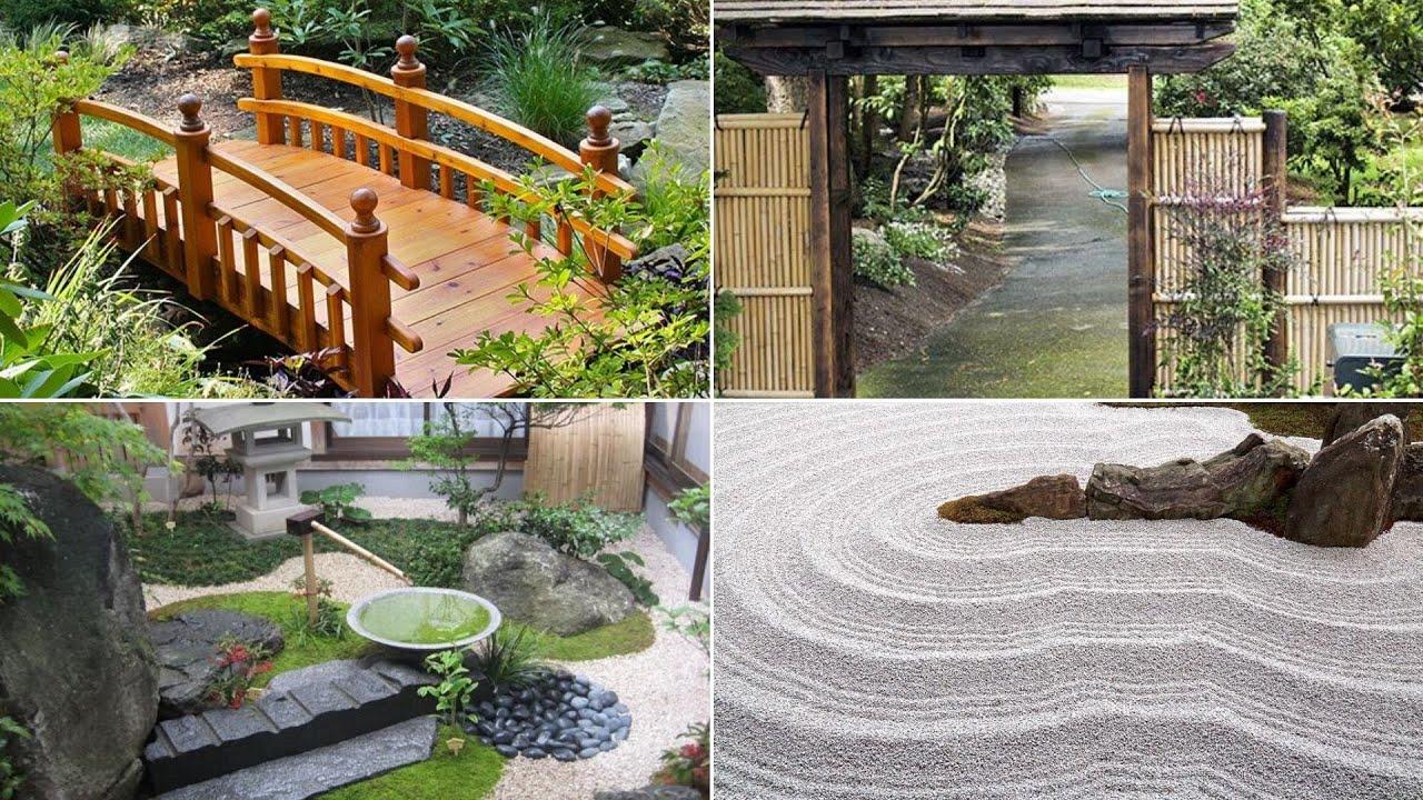 10 Japanese Garden Ideas For Backyard Youtube