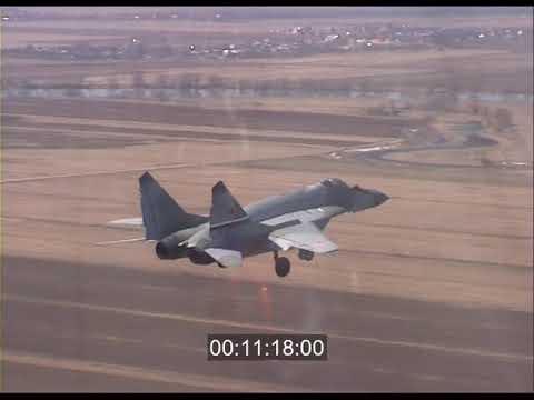 MiG29 777 (video footage)