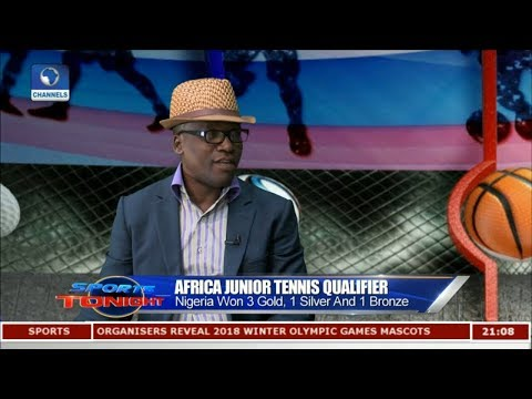 Focus On Africa Junior Tennis Qualifier | Sports Tonight |