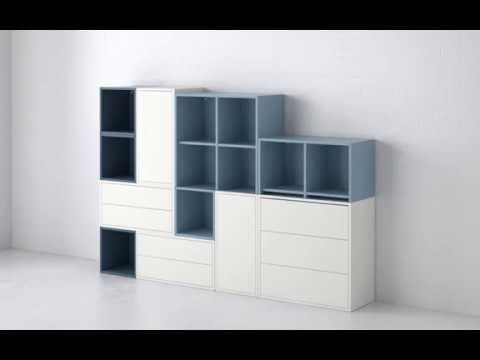 rangement eket youtube. Black Bedroom Furniture Sets. Home Design Ideas