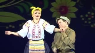 А. Белопашинцев,  Н. Тимофеева - Дуэт Гапуси и Яшки   Свадьба в Малиновке