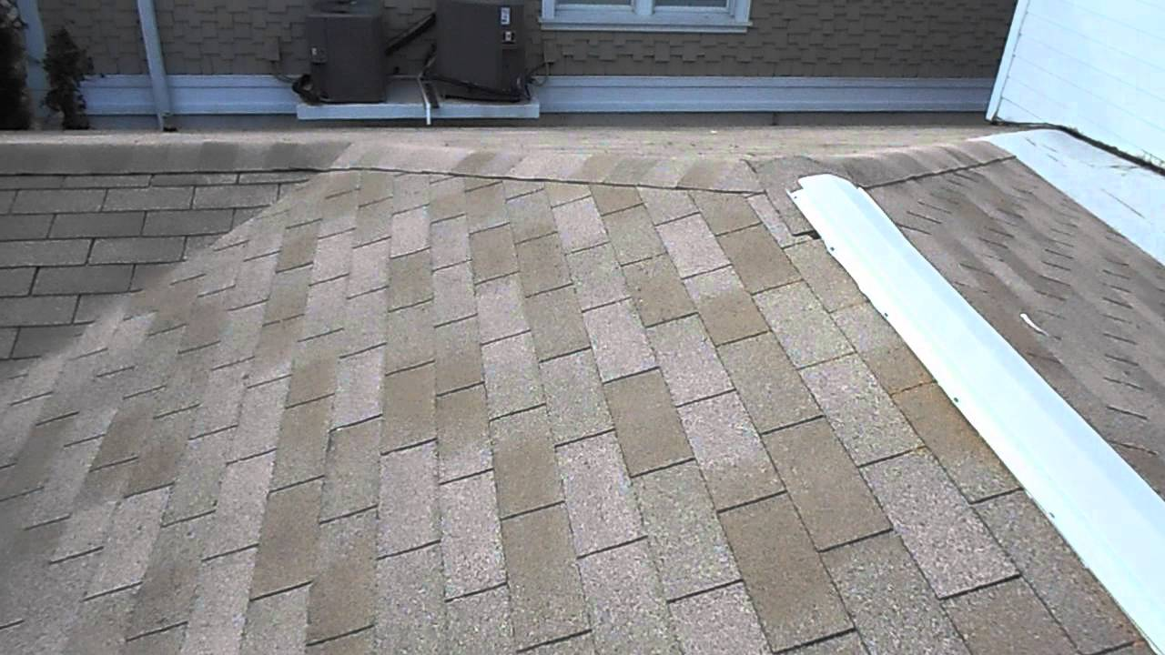 Light brown 3 Tab shingle roof - YouTube