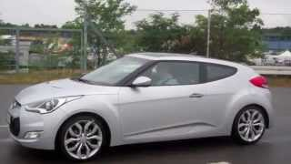 Hyundai Veloster Test Drive