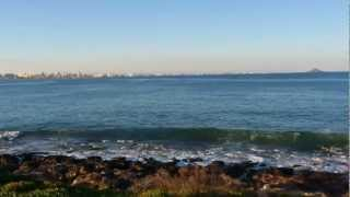 Испания зимой Ла Манга Мар Менор Коса между двух морей